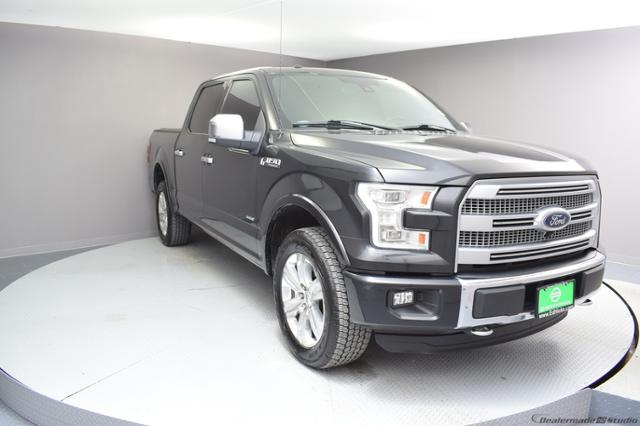 Pre-Owned 2015 Ford F-150 4WD SuperCrew 145 Platinum